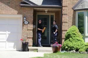 Photos de la campagne porte à porte en Ontario et Région des Prairies - 23 mai 2015