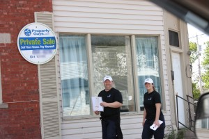 Pictures of the door to door campaign in Atlantic Region - May 30th, 2015