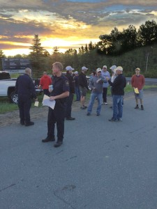 Informtion Picket at ATlantic Institution - June 11, 2015